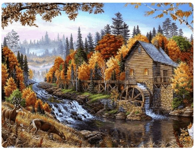 Life At The Mill in Autumn - LOVIELO