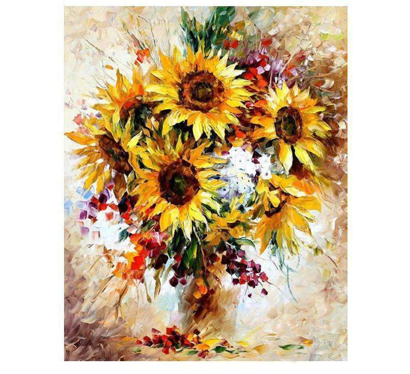 Colorful Vase with Sunflower - LOVIELO