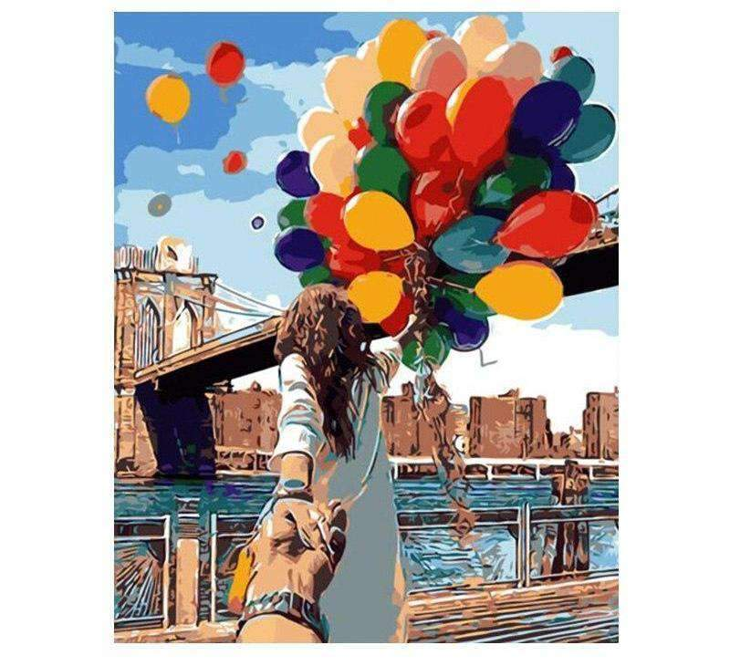 Releasing Balloons In New York City - LOVIELO