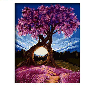 Beautiful Purple Trees - LOVIELO