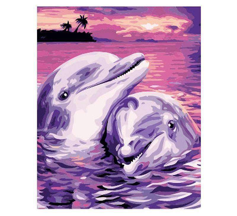 Pink Dolphins Couple - LOVIELO