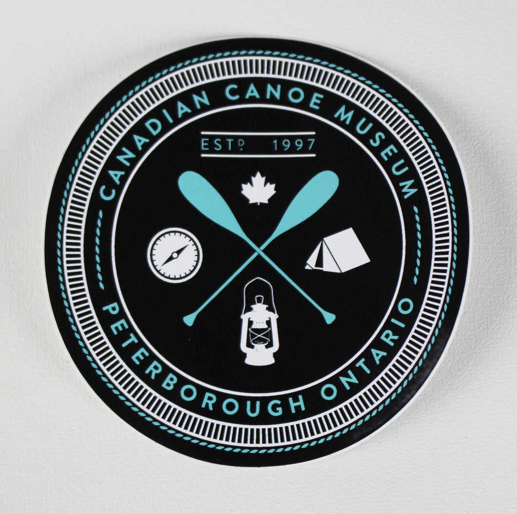 Canoe Museum Sticker