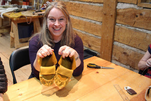 Make a Pair of Summer Moccasins