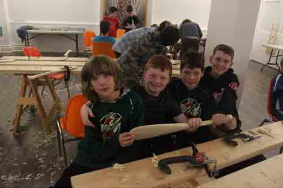 MARCH BREAK 2020: Thursday March 19 (Day 4) - 2ft Paddle Carving