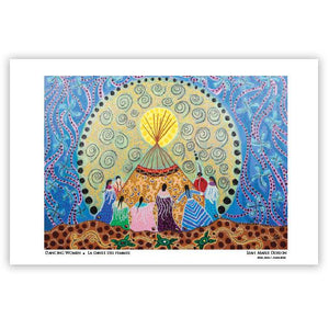 Dancing Women Art Card