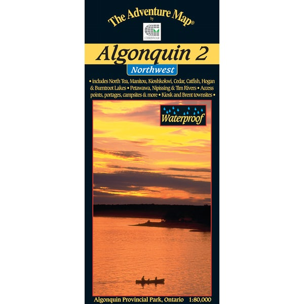 Algonquin 2 - Northwest Map