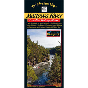 Mattawa River & Area Map