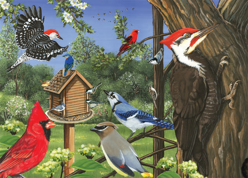Around the Birdfeeder Tray Puzzle