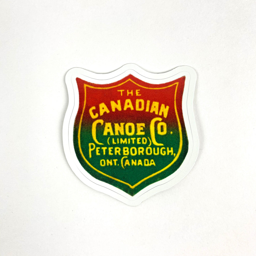 The Canadian Canoe Company Sticker