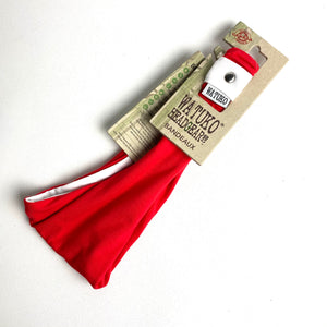 Bandeaux Headband - Red/White