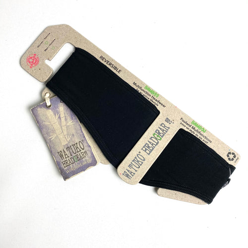 Fleece Headband - Black