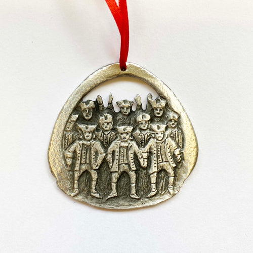 12 days: 10 Lords Pewter Ornament