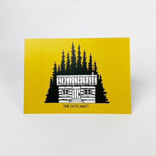 Your Castle Awaits Card