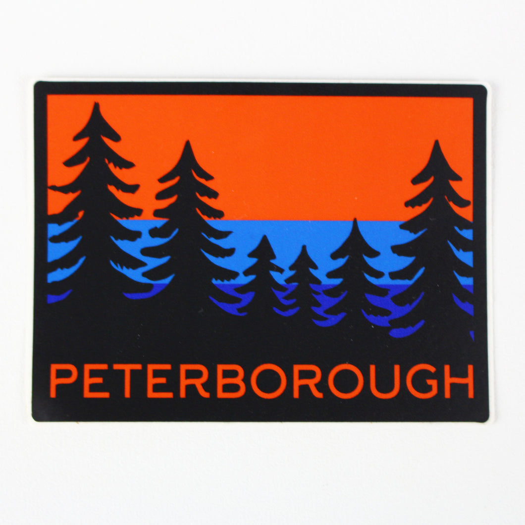 Peterborough Trees Sticker