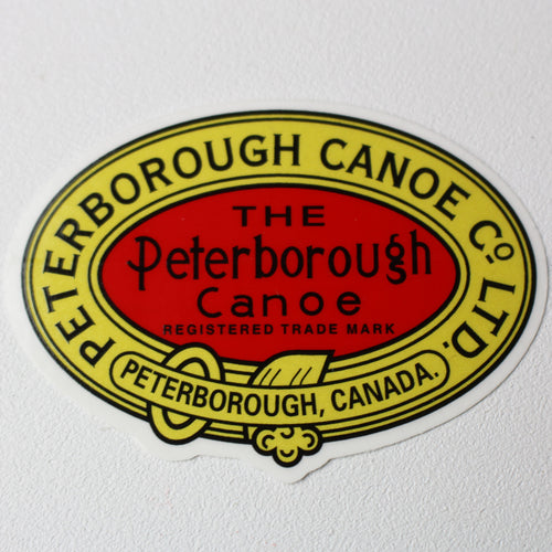 Peterborough Canoe Company Logo Decal