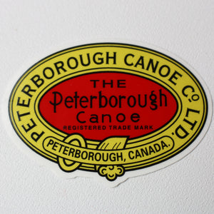 Peterborough Canoe Co. Decal