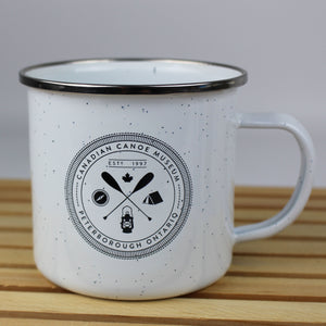 Adventure Enamel Camp Mug
