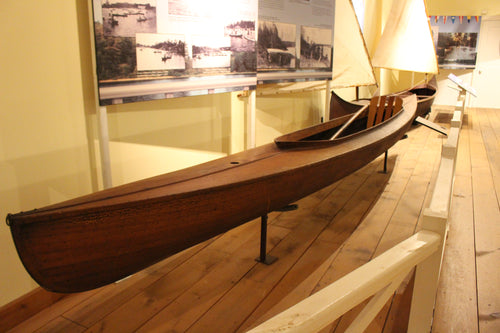 Lakefield Decked Paddling & Sailing Canoe - ADOPTED