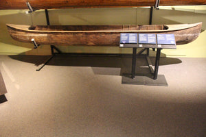 Basswood Log Canoe