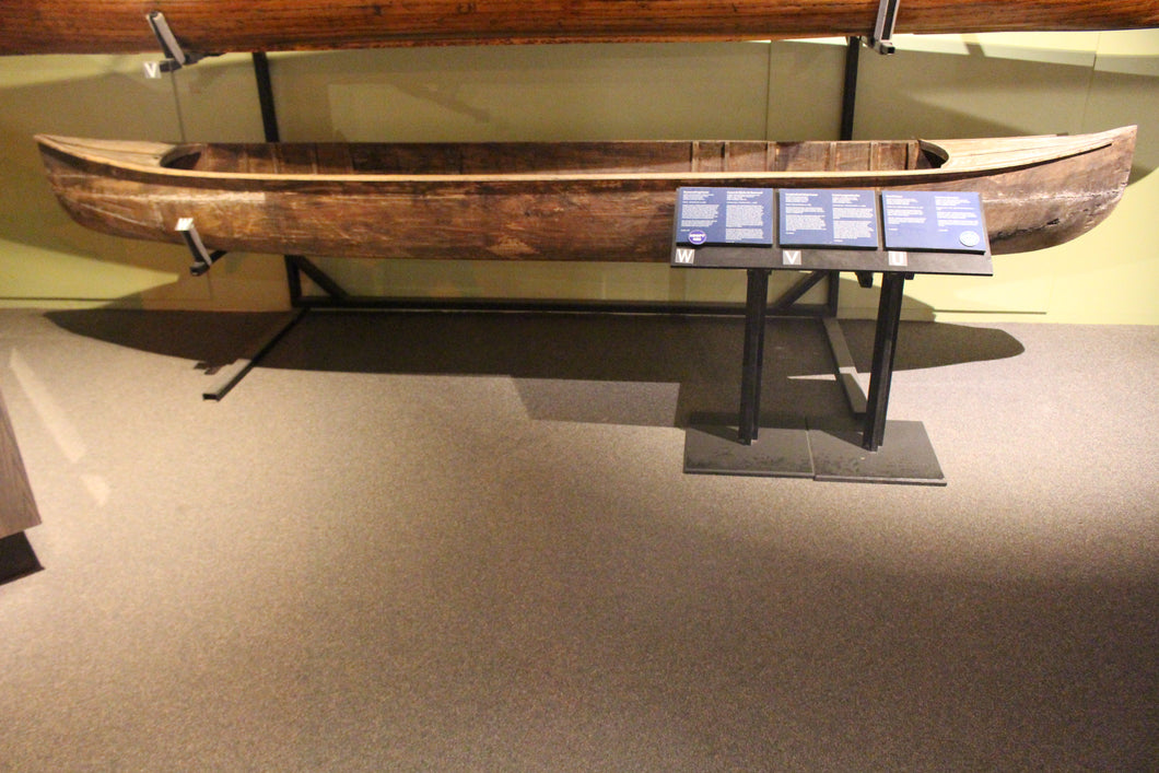 Basswood Log Canoe - ADOPTED for Bruce Prout