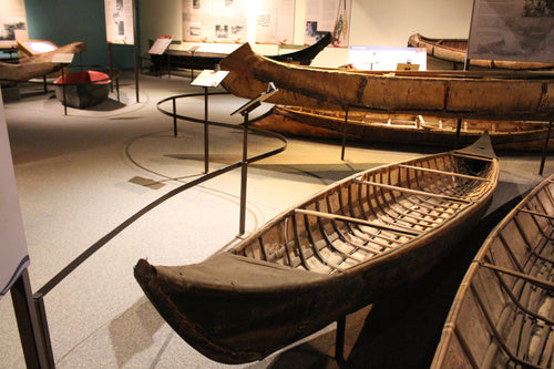 Dene Birch Bark Canoe