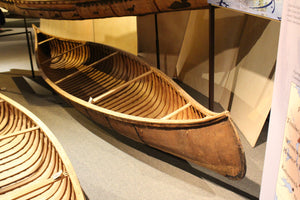 Lac Pemichangan Birch Bark Canoe