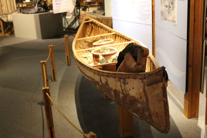 Middaugh Birch Bark Canoe