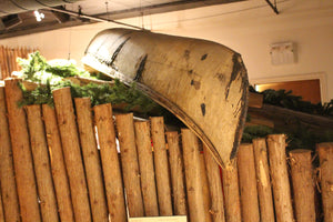 Small Algonquin Style Bark Canoe - ADOPTED for Beth & Dave Buckley