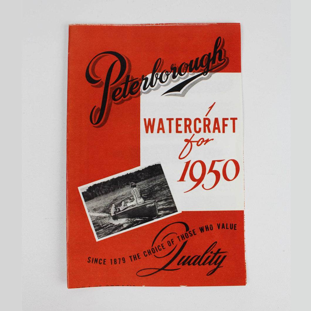 Peterborough Watercraft Brochure 1950
