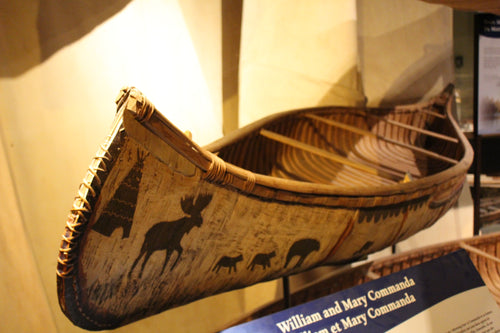 Commanda Birch Bark Canoe - ADOPTED