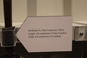 Paddle - West Cameroon - Africa - ADOPTED FOR KASEI J HINSPERGER