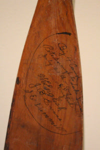 Paddle - William English Canoe Company - ADOPTED by Peter Gilbert
