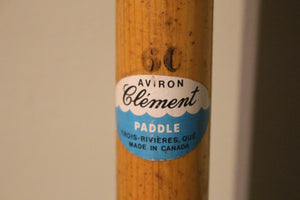 Paddle - Clement Paddles - Donor: Gordon Lightfoot - Adopted by Larry and Marian Love