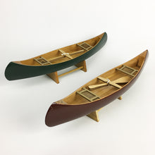 Load image into Gallery viewer, Wooden canoes 13""