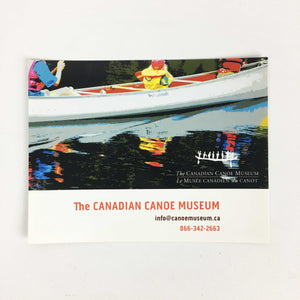 Canadian Canoe Museum Graphic Postcard