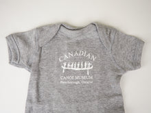 Load image into Gallery viewer, Canoe Museum Logo Onesie