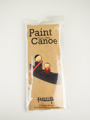 Paint Your Own Canoe Kit