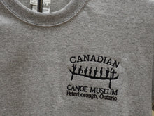Load image into Gallery viewer, Grey Embroidered Logo T-Shirt
