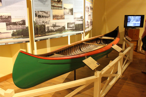 Canvas Covered Canoe - ADOPTED