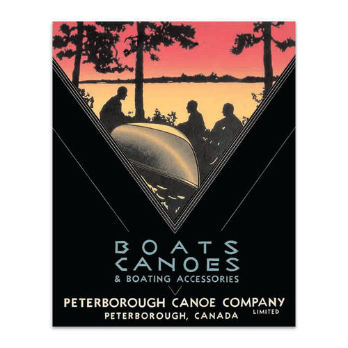 Peterborough Canoe Company Boats and Canoes Poster