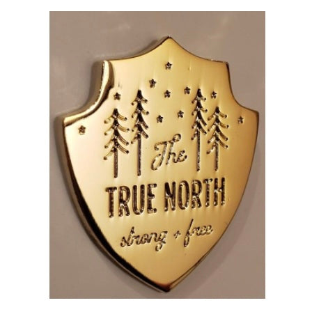 TRUE NORTH Enamel Pin