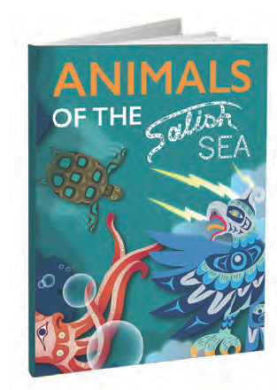 Animals of the Salish Sea - Hardcover