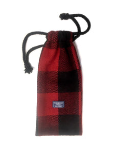 Plaid Wine Sleeve