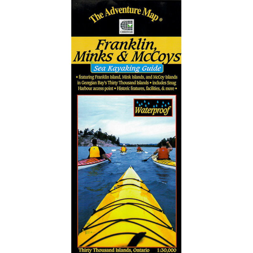 Franklin, Minks & McCoys Map