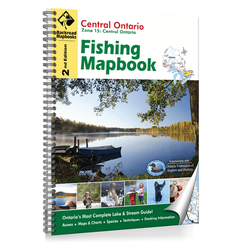 Central Ontario Fishing Map