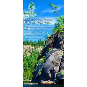Temagami - Obabika & Maple Mtn Map