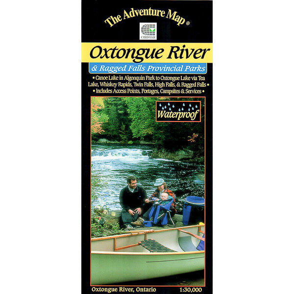 Oxtongue River & Ragged Falls Map