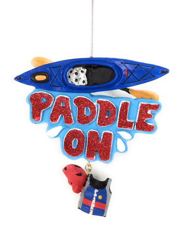 Paddle On Ornament