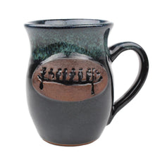 Load image into Gallery viewer, Pictograph logo handmade mug