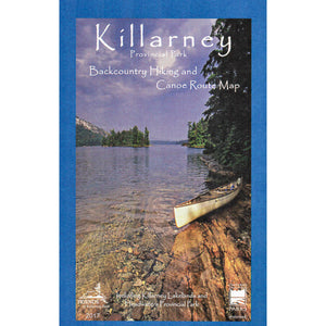 Killarney Canoe Route Planning Map
